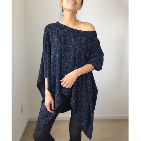 CHICBOMB Tops - LUXE loose fit trapeze poncho tunic top